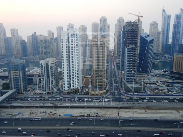 Marina and SZR Views - Al Shera Tower_JLT