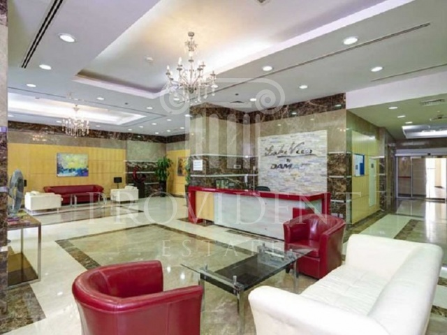 Reception Area - Lake View Tower_JLT